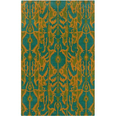 Bailey Aqua Wool Hand-Tufted Area Rug