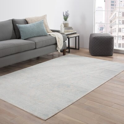 Julien Gray/Blue Area Rug Rug Size: Rectangle 2 x 3