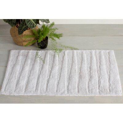 Chamblee Mat Size: 21 H x 34 W, Color: White / White