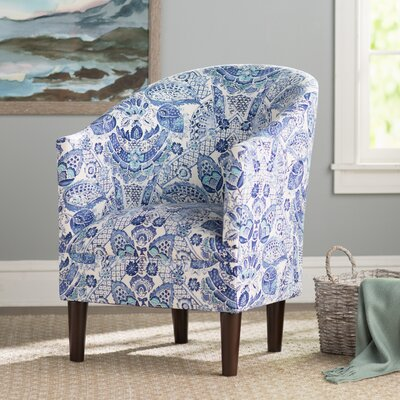 Slama Barrel Chair Upholstery: Porcelain