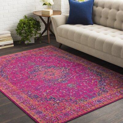 Hillsby Tibetan Pink Area Rug Rug Size: Rectangle 53 x 73