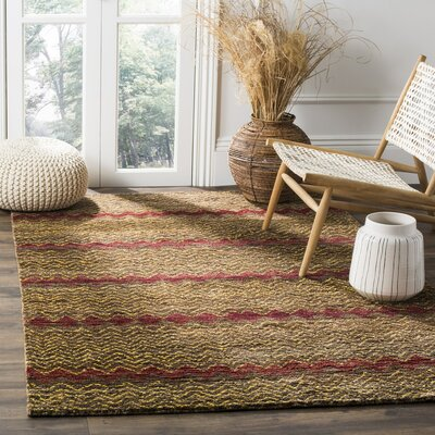 Pinehurst Brown / Gold Area Rug Rug Size: 5' x 8'