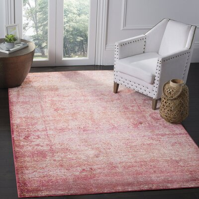 Koch Fuchsia Area Rug Rug Size: Rectangle 9 x 12