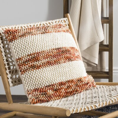Wapan Striped Looped Throw Pillow
