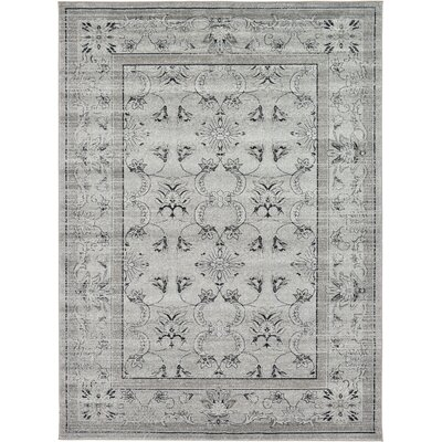 Imperial Gray Area Rug Rug Size: 122 x 16