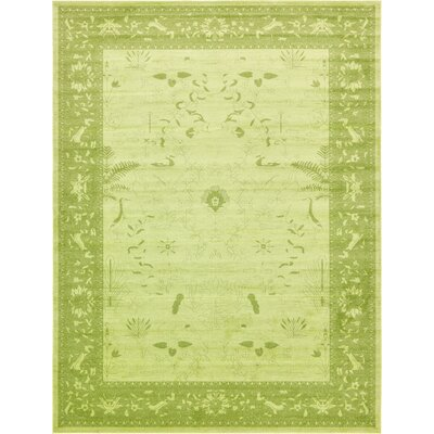 Shailene Light Green Area Rug Rug Size: Rectangle 122 x 16