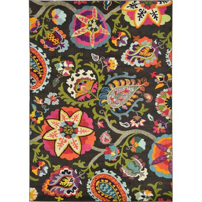 Hayes Brown Area Rug Rug Size: 7 x 10