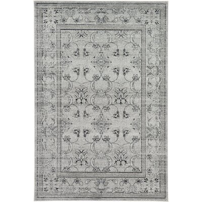 Imperial Gray Area Rug Rug Size: 6 x 9