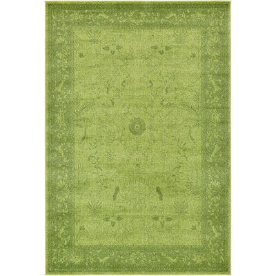 Shailene Light Green Area Rug Rug Size: Rectangle 6 x 9
