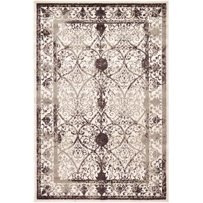 Shailene Beige/Brown Area Rug Rug Size: Rectangle 6 x 9