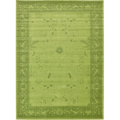 Imperial Light Green Area Rug Rug Size: 12'2