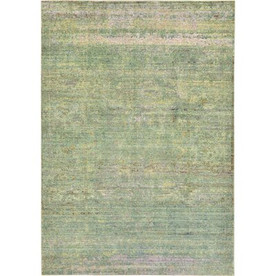 Danbury Green Area Rug Rug Size: 6 x 9