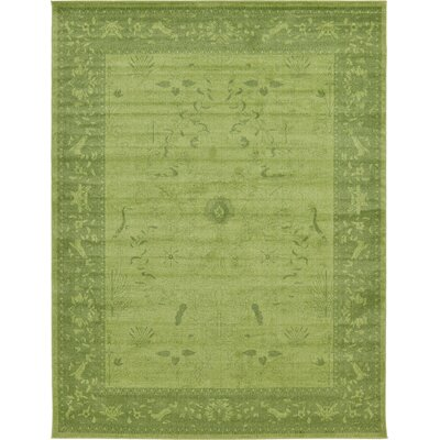 Imperial Light Green Area Rug Rug Size: Rectangle 10 x 13