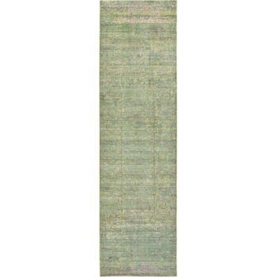 Danbury Green Area Rug Rug Size: Runner 27 x 910