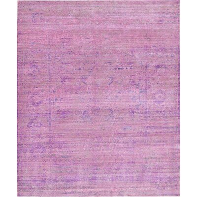 Rune Purple Area Rug Rug Size: 13 x 165