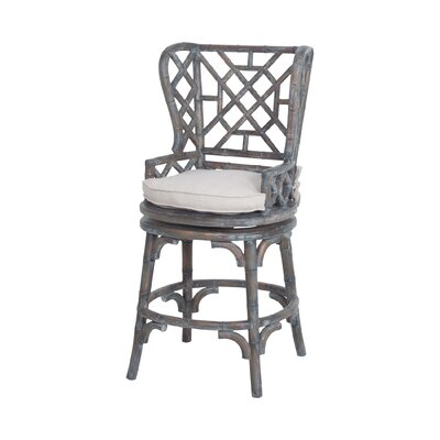 Kenley Bamboo Bar Stool