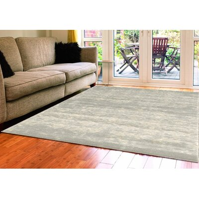 Becket Gray Area Rug Rug Size: 3'3