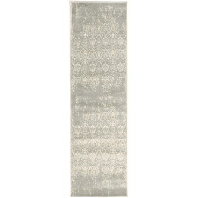 Kingfisher Gray Area Rug Rug Size: Runner 22 x 77