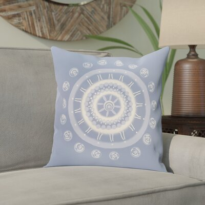 Nandai Geometric Print Outdoor Pillow Color: Cornflower, Size: 16 H x 16 W x 1 D