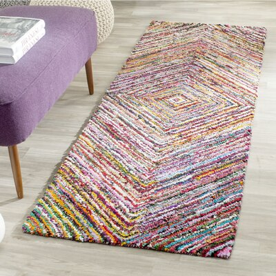 Anaheim Hand-Tufted Area Rug Rug Size: Runner 23 x 10