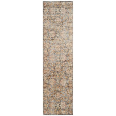 Aronwold Light Brown/Multi-Colored Area Rug Rug Size: 4 x 6