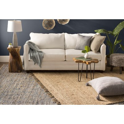 Liza Hand-Woven Natural Area Rug Rug Size: Rectangle 8 x 10