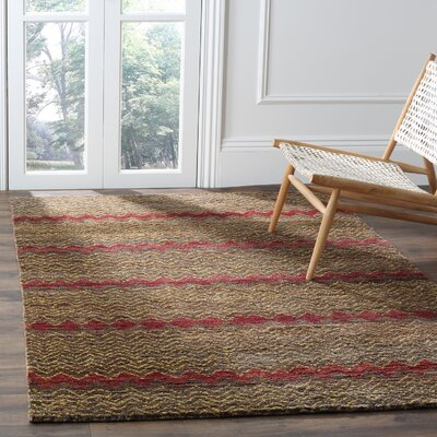 Pinehurst Brown / Gold Area Rug Rug Size: Rectangle 5 x 8