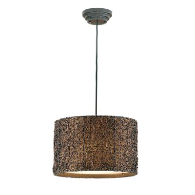 Anthracite 3-Light Pendant Finish: Espresso