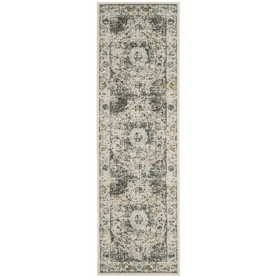 Elson Gray/Gold Area Rug Rug Size: Runner 22 x 7