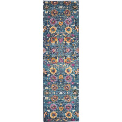 Bethesda Denim Indoor Area Rug Rug Size: Runner 22 x 76