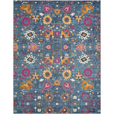 Bethesda Denim Indoor Area Rug Rug Size: 8 x 10