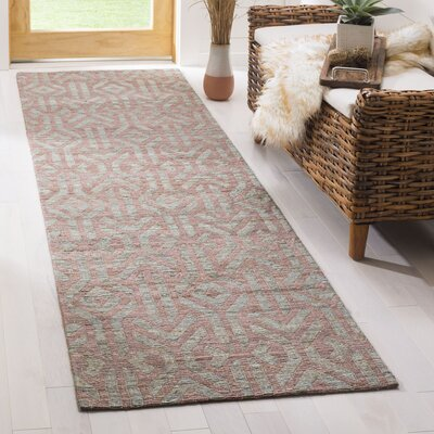 Francisco Hand-Woven Area Rug Rug Size: Runner 23 x 8