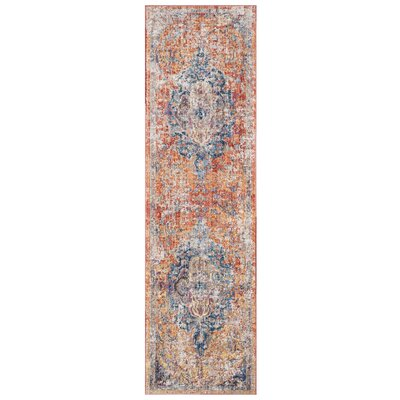 Arapaho Orange Area Rug Rug Size: Runner 23 x 8