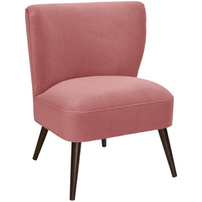 Mamounia Slipper Chair Upholstery: Regal  Dusty Rose