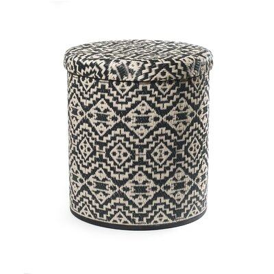 Beachmere Outdoor Storage Pouf Ottoman