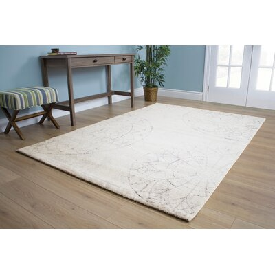 Blackstone Beige Area Rug Rug Size: Rectangle 53 x 77