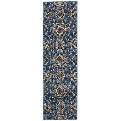 Mcknight Denim Area Rug Rug Size: Runner 22 x 76
