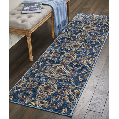 Mcknight Denim Area Rug Rug Size: 710 x 106