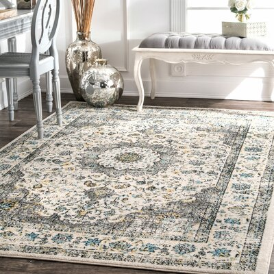 Chatelaine Verona Ivory Area Rug Rug Size: Rectangle 3 x 5