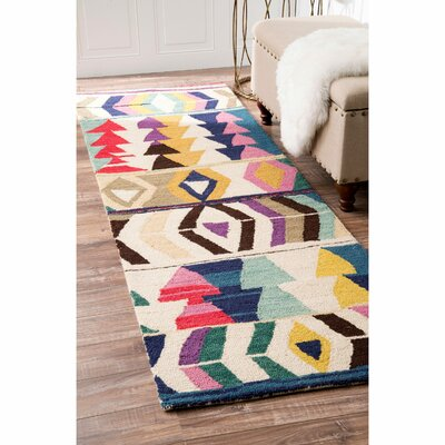 Foti Hand-Tufted Area Rug Rug Size: Rectangle 3 x 5