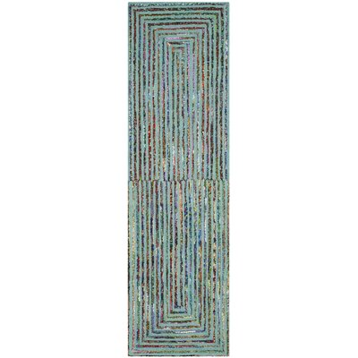 Tufted Cotton Area Rug Rug Size: Runner 23 x 8