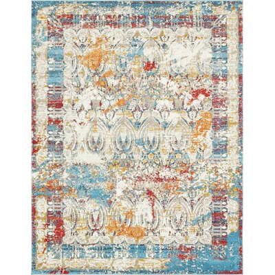 Hartell Multi Area Rug Rug Size: 5 x 8