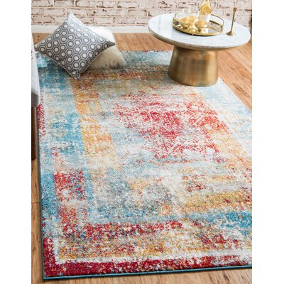 Hartell Turkish Area Rug Rug Size: 5 x 8