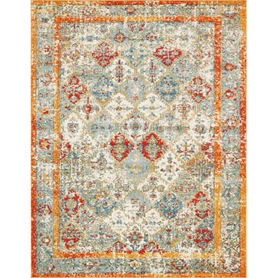 Hartell Stain Resistant Beige Area Rug Rug Size: 8 x 10
