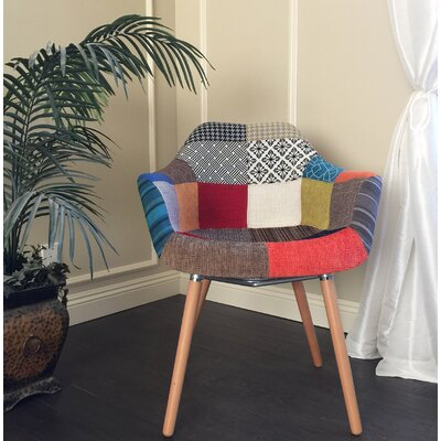 Emilie Patchwork Arm Chair