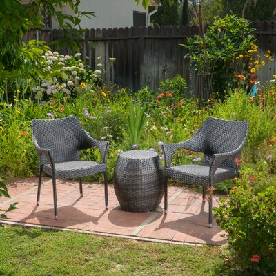 Birksgate Outdoor 3 Piece Rattan Sofa Set