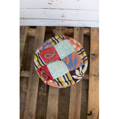 Kantha Floor Pillow