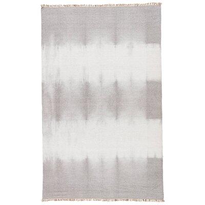 Xzavier Gray/Ivory Area Rug Rug Size: 5 x 8