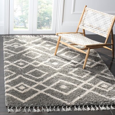 Sunbeam Beige/Brown Area Rug Rug Size: Rectangle 51 x 76