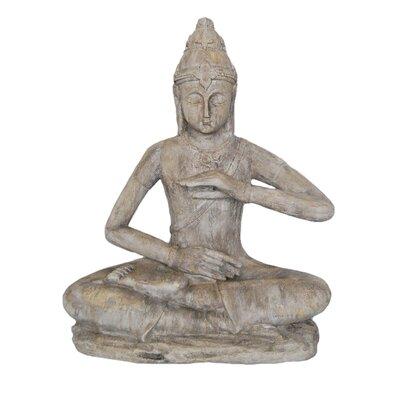 Decorative Resin Sitting Buddha Stone Statue BNRS7465 40622488